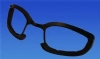 Glasses Replacement foam - Eyewear Insert - Black