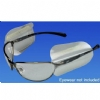 Eyewear Side Shields - Slip On Flexible Plastic Shields