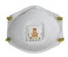 3M #8511, 10 pack  Particulate Respirator Mask 3M™ Industrial N95 with Valve Cup Elastic Strap