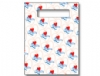 Scatter Bag - Dental Hearts Clear 7x10 (100)