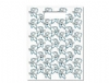 Scatter Bag - Cute Tooth Guy Clear 7x10 (100)
