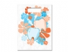 Scatter Bag - Flower Power Clear 7x10 (100)