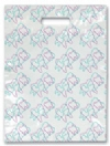 Scatter Bag - Tooth Shapes Clear 7x10 (100)