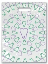 Scatter Bag - Toothswirl Clear 7x10 (100)