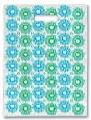 Scatter Bag - Teeth In Circles Clear 7x10 (100)