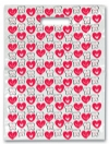 Scatter Bag - Teeth&Hearts Smile Clear 7x10 (100)