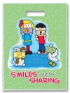 Bags - Full Color Sharing Smiles Large 9x13 (250)