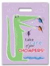 Bags - Full Color Gator Chompers Large 9x13 (250)