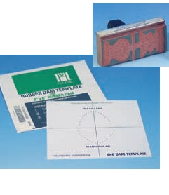 Dental Dam Template Amp Stamp For 5 Quot Or 6 Quot Dam H01440