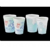 Poly Coated Paper Cups 4 oz - Healthy Teeth Design 1000/Box