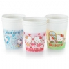 Poly Coated Paper Cup, 5 oz. Hello Kitty, Assorted Colors. 1000 Cups