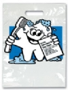 Bags - 2 Color McTooth Says Large 9x13 (100)