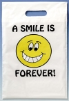 Bags - 2 Color Smile Forever Large 9x13 (100)