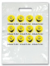 Bags - 2 Color Smile To Go! Face Large 9x13 (100)