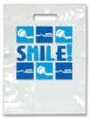 Bags - 2 Color Smile! Large 9x13 (100)
