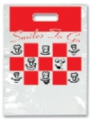 Bags - 2 Color Smiles 2 Go Large 9x13 (100)