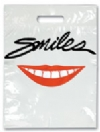Bags - 2 Color Smiles Red Lips Large 9x13 (100)