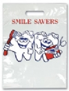 Bags - 2 Color Smile Savers Large 9x13 (100)