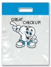 Bags - 2 Color Great Checkup! Large 9x13 (100)