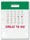 Bags - 2 Color Goofy Smiles 2 Go Large 9x13 (100)