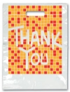 Bags - 2 Color Thank You Tile Large 9x13 (100)
