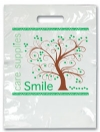 Bags - 2 Color Tree Smiles Large 9x13 (100)