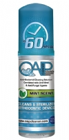 Oap Cleaner 45 Day Orthodontic Cleaning Solution - 1.5oz Foam Bottle