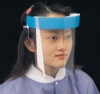 (24/pk) Disposable Full Face Shields With Foam Forehead Bumper, 13