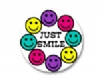Stickers - Just Smile Stickers  (100pk)