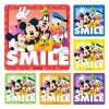 Stickers - Disney Smile Asst 2.5x2.5  (100pk)
