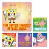 Stickers - Dental SpongeBob Asst 2.5x2.5  (100pk)