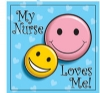 Stickers - My Nurse Loves Me 2.5x2.5  (100pk)