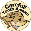 Stickers - Tooth Asleep Dog 2
