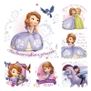 Stickers -  (100pk) Sofia The First