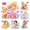 Stickers -  (100pk) Disney Palace Pets Princess