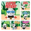 Stickers - PANDA PATIENT Stickers  (100pk)