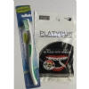 Platypus Combo - Ortho Flosser for Braces (30) and Toothbrush