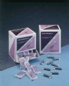 Disposable Prophy Angles (144 Pieces/Box, Latex-Free, Medium Soft)