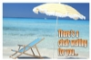 Recall Card - Beach Chair Laser 4-Up (200)