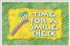 Recall Card - Smile Check Laser 4-Up (200)