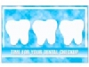 Recall Card -  Dental Checkup Postcard 4-Up (200)