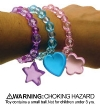 Bracelets - Childrens Pendant Bead Assortd (24)