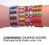 Bracelets - Childrens LG Stone Assorted (48)