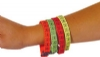Bracelets - Childrens Woven Tooth Assorted (72)
