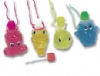 Necklaces - Fish w/Bubbles Assorted (24)