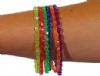 Toys - Bracelets - Childrens Glitter Assorted (72)