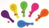 Toys - Mini Tooth Paddleball Assorted (48)