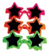 Toys - Glasses Star-Shape Assorted (24)