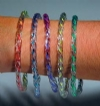 Bracelets - Childrens Clear Neon Assorted (72)