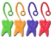 Toys - Neon Sticky Tooth Assorted (36)